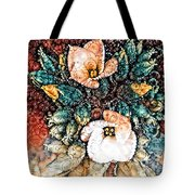 A Holiday Bouquet Tote Bag