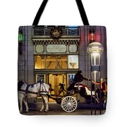 A Holiday Ride Tote Bag