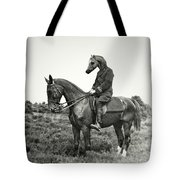 A Horse Ride Tote Bag
