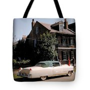 A Hot Date In A Pink Caddy Tote Bag