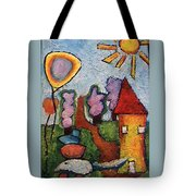 A House And A Mouse Tote Bag