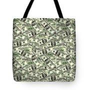 A Hundred Dollar Bill Banknotes Tote Bag