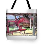 A I Farm Apple Squeeze Dragon Tote Bag