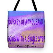 A Journey Tote Bag