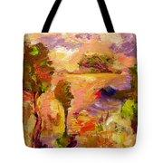 A Joyous Landscape Tote Bag