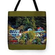 A Juneau Hillside  Tote Bag