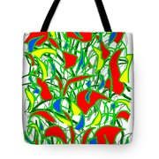 A Jungle Out There Tote Bag