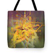 A Kinder, Gentler Abstract On Drugs Tote Bag