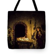 A King Is Born Tote Bag