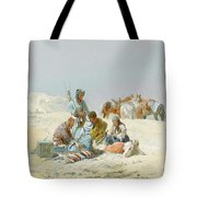 A Kirghiz Gathering Tote Bag