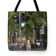A Kiss In Budapest Tote Bag