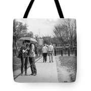A Kiss In The Shade Tote Bag
