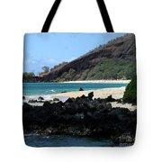 A L O H A  E Ala E Puu Olai Oneloa Big Beach Makena Maui Hawaii Tote Bag