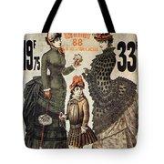 A La Tour St.jacques - Rue De Rivoli - Vintage Fashion Advertising Poster - Paris, France Tote Bag