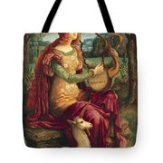 A Lady With A Unicorn Tote Bag