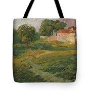 A Landscape In Vicinity Of Strijigorod Tote Bag