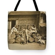 A Large Collection Of Photographs Tote Bag