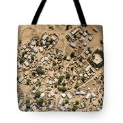A Large Sahelian Town In Western Mali Tote Bag