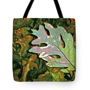 A Leaf On The Pile Tote Bag