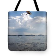 A Leap To Freedom Tote Bag