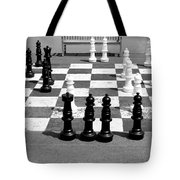 A Life Time Game Of Chess Tote Bag by Danielle Allard