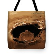 A Lifeless Planet Brown Tote Bag by ISAW Company