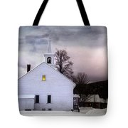 A Light In The Old Church Tote Bag