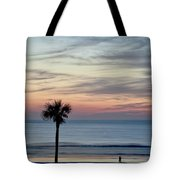 Daytona Beach Sunrise Tote Bag
