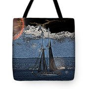 A Lightshow To Remember Tote Bag
