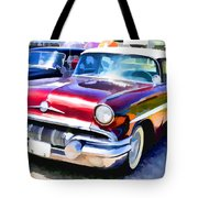 A Line Of Classic Antique Cars 9 Tote Bag