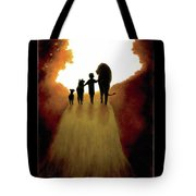 A Little Child Will Lead Them Tote Bag
