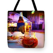 A Little Dab Will Do Yah. It's Sliced Tote Bag