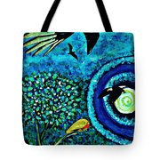A Little Garden At The Edge Of The World Tote Bag