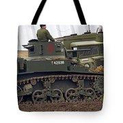 A Little Honey - M3 Stewart Light Tank Tote Bag