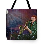 A Little Sax Tote Bag