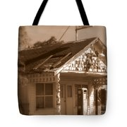 A Little Weathered Gas Station Tote Bag