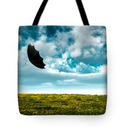 A Little Windy Tote Bag