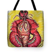 A Lobster In My Belly Tote Bag