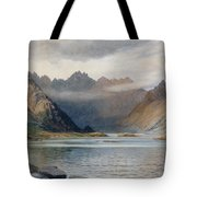 A Loch North Of Hadrian's Wall Tote Bag by Walter Severn