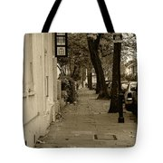 A London Street I Tote Bag