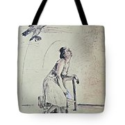 A Lonely Thought Tote Bag