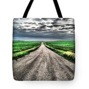A Long Dakota Road Tote Bag