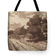 A Long Island Road Tote Bag