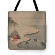 A Long Tale For An Autumn Night Tote Bag