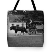 A Look Back Tote Bag