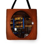 A Look Thru The Fishbowl Tote Bag