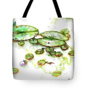 A Lotus Leaf Tote Bag