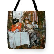 A Luncheon Tote Bag by Tissot