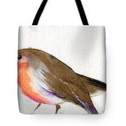 A Magical Little Robin Called Wisp Tote Bag