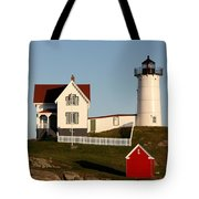A Maine Lighthouse  Tote Bag
